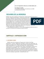 Memoria del proyecto de Ingeniería Técnica  Scada.doc
