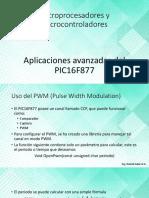 7 - Aplicaciones Avanzadas Del PIC16F877