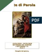 Sete di Parola - Battesimo del Signore - I Settimana T.O - C.doc