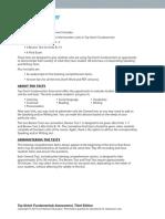 Top Notch Fundamentals Assessment to the Teacher