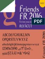 Friends FR 2016