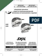 Skill Jig Saw Manual