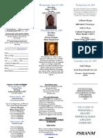 2019 PSRANM Conference Registration