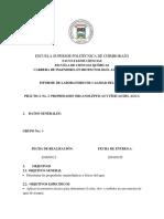 Informe 2 Propiedades Fisicas y Organo