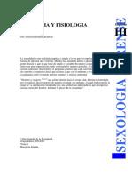 Anatomía y fisiología sexual