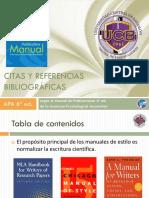 Cita  y referencias en formato APA- FETD