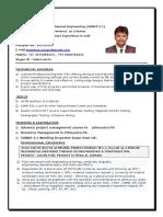 Tulasi Rao- MECHANICAL ENGINEER 9 Yeras Experience Cswip