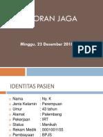Laporan Jaga 23 Desember 2018-1