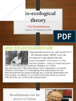 Bio Ecological Theory