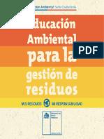 Cuadernillo Educación Ambiental Residuos