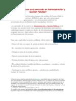 Areas Laborales de Derecho y Gestion Publica