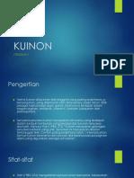FITOKIMIA-KUINON