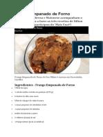 Frango Empanado de Forno