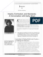 inquiry  curriculum and standards a conversation with kathy short