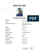 HOJA de VIDA Fernando Sanjuan