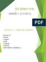 English Spm(1119)