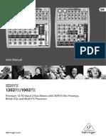 Buku manual xenyx 1002fx