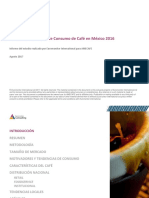 Ejemplo Análisis de mercado de café 2016