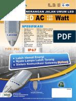 Brosur PJU AC 125-180 Watt