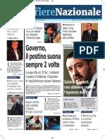 Rassegna Stampa Mazionale e Locale Dell'Umbria Del 13 Gennaio 2019
