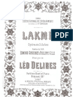 Delibes Lakmé Duo Du Jasmin PC