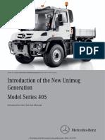 Unimog (Model Series 405) PDF Service Manuals