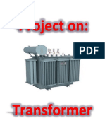 Physics project on transformer