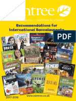 Recommendations for International Baccalaureate