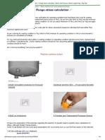 ASME Sec VIII Div 1 Flange Stress Calculation - Boiler and Pressure Vessel Engineering - Eng-Tips