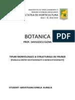 Referat Botanica Tema 1