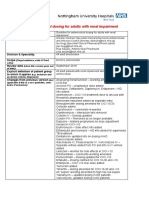 Antimicrobials in renal dysfunction
