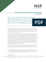 Nox Emission Report LCV ICTI