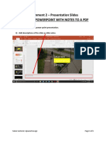Exporting Powerpoint With Notes to a PDF