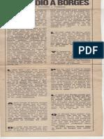 El asedio a Borges-Eduardo Paredes-Recorte de diario