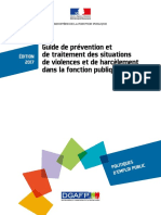 Guide Prevention Situations Violences
