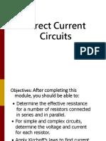 DC Circuits 1