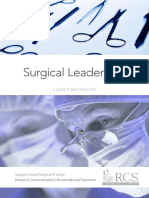 Surgical leadership
