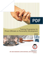 Personality Development Training Programme