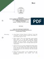 UST Akuntansi SK Hasil Akreditasi BAN PT 2006