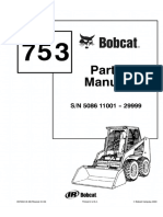 Bobcat 753 Skid Steer Loader Parts Catalogue Manual (SN 508611001-508629999).pdf