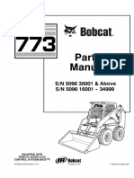 Bobcat 773 F Series Skid Steer Loader Parts Catalogue Manual (SN 5096 16001 - 34999).pdf