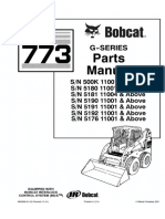 Bobcat 773 G Series Skid Steer Loader Parts Catalogue Manual (SN 5180 11001 & Above ).pdf