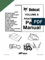 Bobcat Attachments Box Blade, Brushcat, Disc HD80, Landplane, Landscape Rake, Parts Catalogue Manual.pdf
