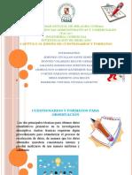 Diseño de Cuestionarios y Formatos