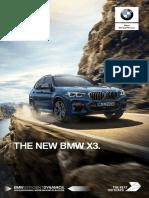 BMW X3 Catalogue Site