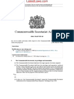 Commonwealth Secretariat Act, 1966
