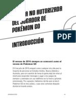 Gui no autorizada pokemon go