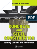 Concrete and Steel Construction_Quality Control and Assurance