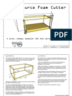 3d Open Source Foam Cutter