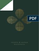 Fourth Avenue Residences Brochure